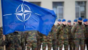 Nato-Soldaten in Litauen | Bild: picture-alliance/dpa