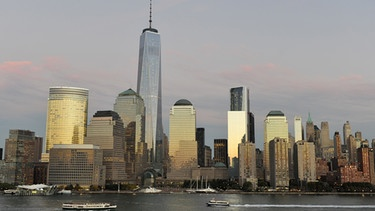New York - Manhattan mit One World Trade | Bild: picture-alliance/dpa