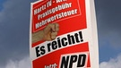 NPD-Plakat | Bild: picture-alliance/dpa