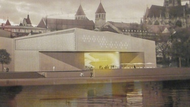 architektenwettbewerb so soll das museum aussehen. Black Bedroom Furniture Sets. Home Design Ideas