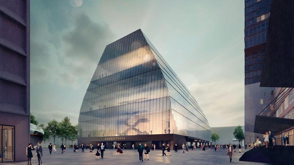 Modell Vorgestellt Haus Aus Glas Der Neue Munchner Konzertsaal