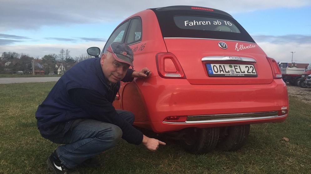 Mit 16 Schon Auto Fahren Allg 228 Uer T 252 Ftler Macht S