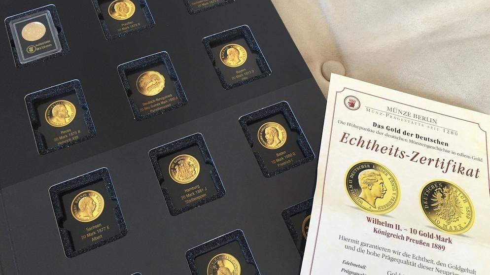 Nicht Alles Gold Was Glänzt Wertinger Rentner Fällt Auf Mdm