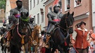 Wallenstein Umzug in Memmingen  | Bild: BR