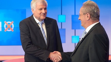 Horst Seehofer (links) und Christian Ude | Bild: picture-alliance/dpa