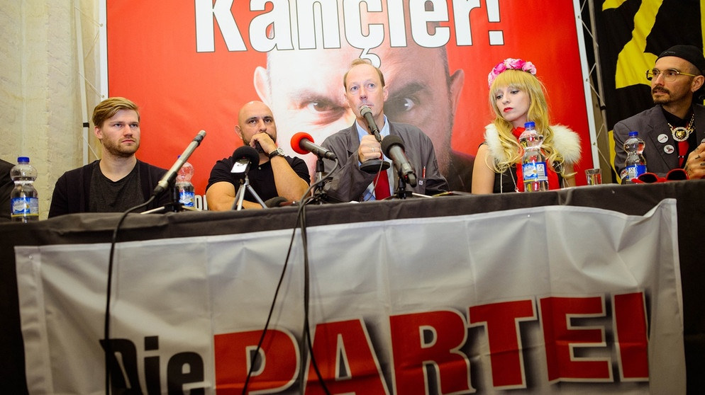 Kommunalwahlen: Fränkische Spaßparteien zwischen Satire und Ernsthaftigkeit   BR.de