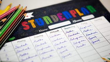 Stundenplan | Bild: BR/Lisa Hinder