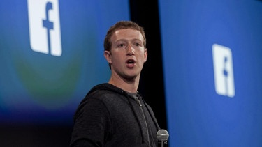 Facebook-Gründer Mark Zuckerberg | Bild: picture-alliance/dpa