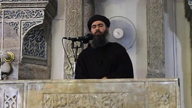 IS-Chef Abu Bakr al-Baghdadi | Bild: picture alliance / dpa
