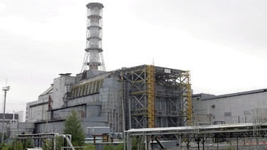 Tschernobyl: Reaktorblock 4 | Bild: picture-alliance/dpa