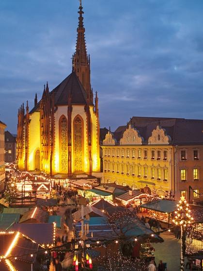 Weihnachtsmarkt Würzburg.Weihnachtsmärkte In Franken Weihnachtsmarkt In Würzburg Heimat