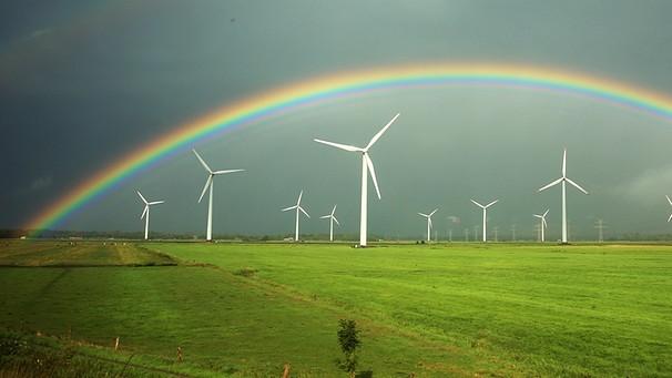Farbe regenbogen ein welche hat Regenbogen in