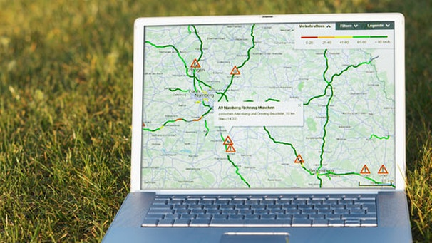 Stau Karte.Interaktive Staukarte Suche Nach Verkehrsinfos Wie Funktioniert S