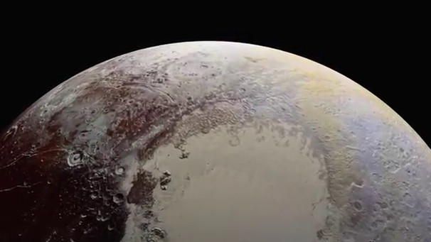 New Horizons' Best View of Pluto's Craters, Mountains and Icy Plains | Bild: NASA Video (via YouTube)