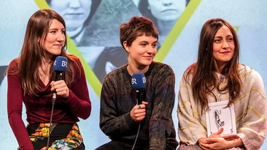 on3-Festival 2012: Stealing Sheep im Interview | Bild: Matthias Kestel/BR