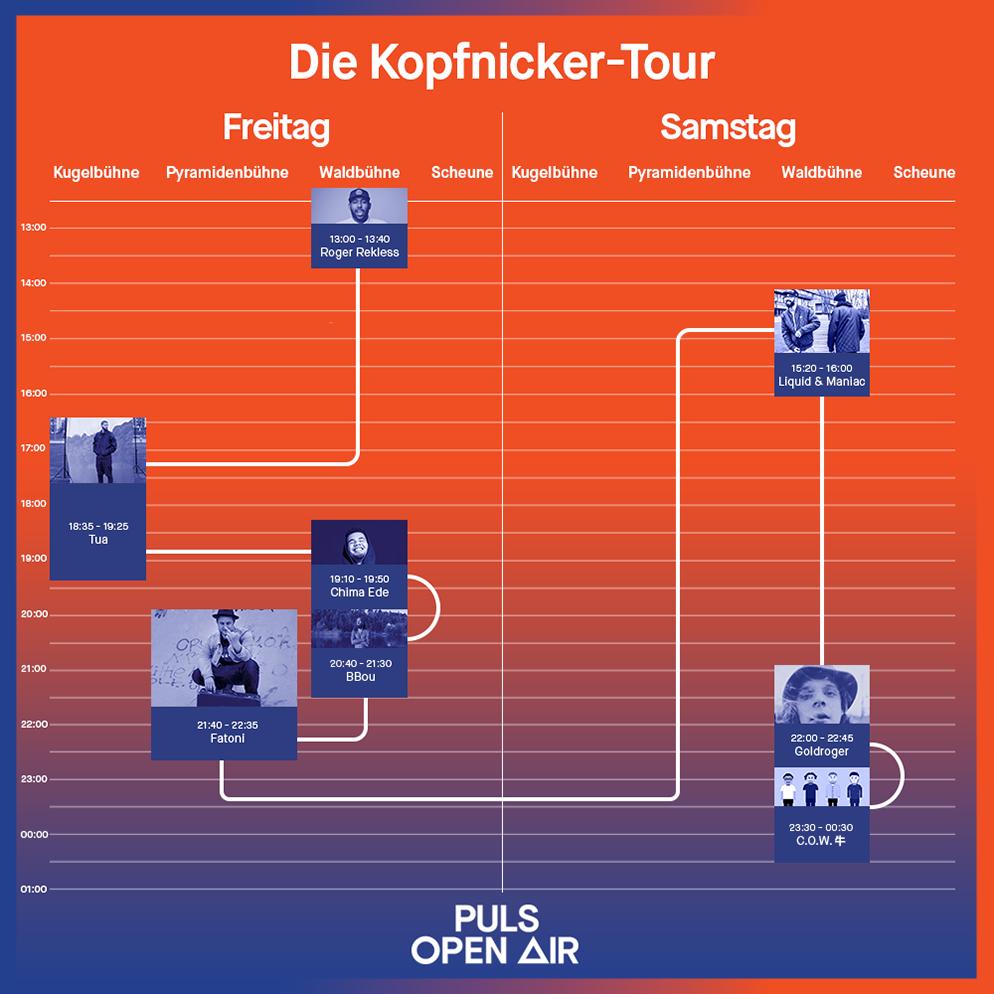 Puls Open Air 2017: Die Kopfnicker-Tour | Events | PULS