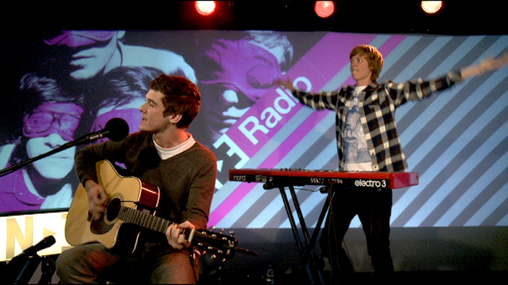 Chris und Sean von den Fake Problems (PULS Live Session) | Bild: BR