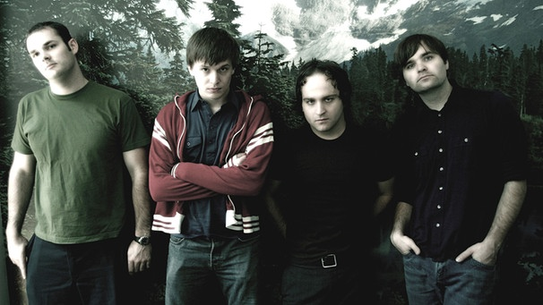 Promofoto der ALternative-Band Death Cab for Cutie von 2003 | Bild: Grand Hotel van Cleef