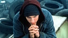 "US-Rapper Eminem in seinem Film ""8 Mile"" 