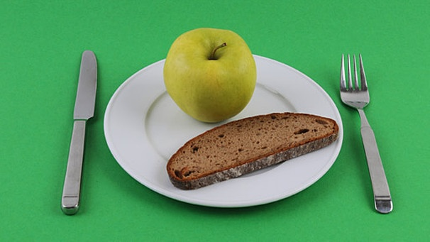 Healthy Food / Thema Orthorexie | Bild: dpa / picture-alliance