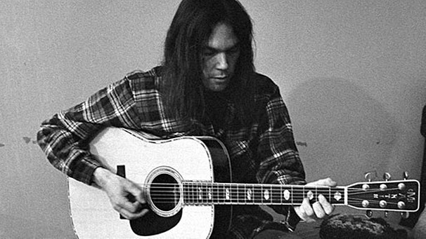 Neil Young in jungen Jahren. | Bild: Warner Music Group