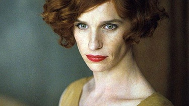 "Eddie Redmayne als Transfau Lili Elbe in ""The Danish Girl"" 