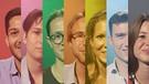 Junge kandidat*innen bei der Landtagswahl in bayern 2018 | Bild: BR