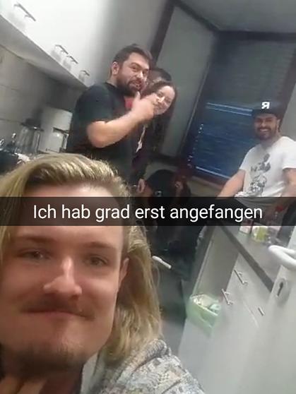 Nackt deutsch snapchat Deutsche Freundin