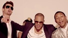 Pharrell, Robin Thicke, T.I. | Bild: Screenshot YouTube Blurred Lines