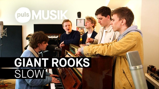 Giant Rooks - Slow (PULS Live Session) | Bild: PULS Musik (via YouTube)