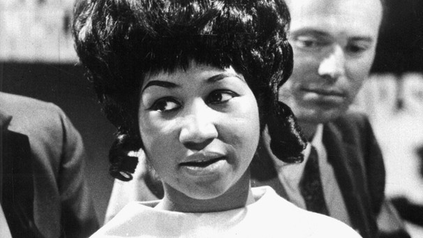 Aretha Franklin in den Sechzigern | Bild: picture-alliance/dpa