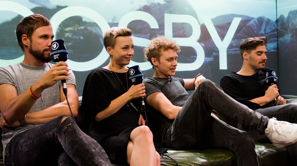 Interview in der Puls Livestage | Bild: PULS