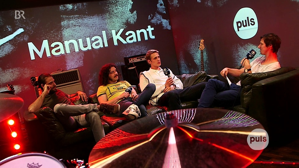 Manual Kant aus Landshut im Interview | Bild: BR