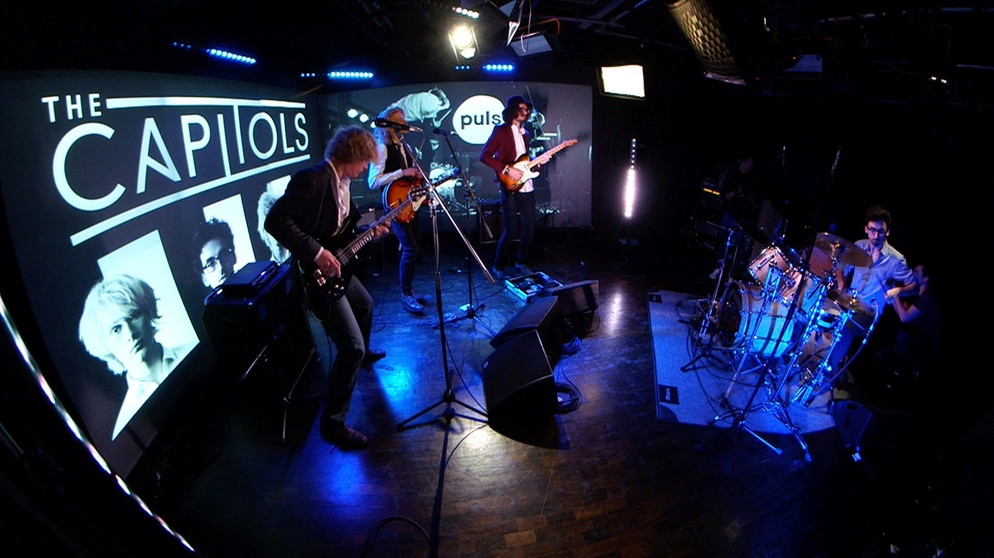 The Capitols - Inhale Exhale (PULS Live Session) | Bild: BR