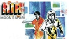 "Albumcover ""Moon Safari"" von Air 