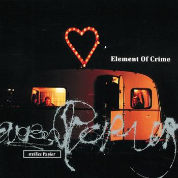 "Albumcover ""Weisses Papier"" von Element Of Crime 