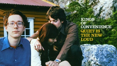 "Albumcover ""Quiet Is The New Loud"" von Kings Of Convenience 