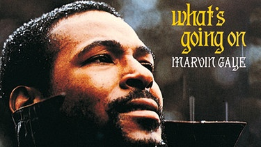 "Cover des Albums ""What's Going On"" von Marvin Gaye 