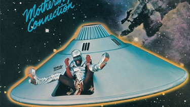 "Cover des Albums ""Mothership Connection"" von Parliament 