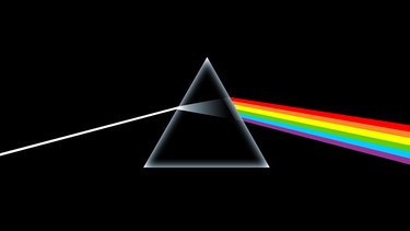 "Cover des Albums ""The Dark Side of the Moon"" von Pink Floyd 