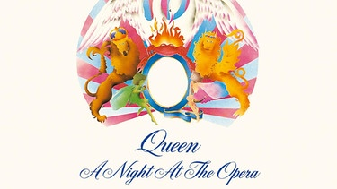 "Cover des Albums ""A Night At The Opera"" von Queen 