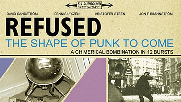 "Albumcover ""The Shape Of Punk To Come"" von Refused 