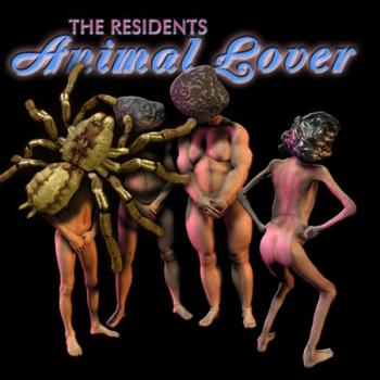 "Albumcover ""Animal Lover"" von the Residents 