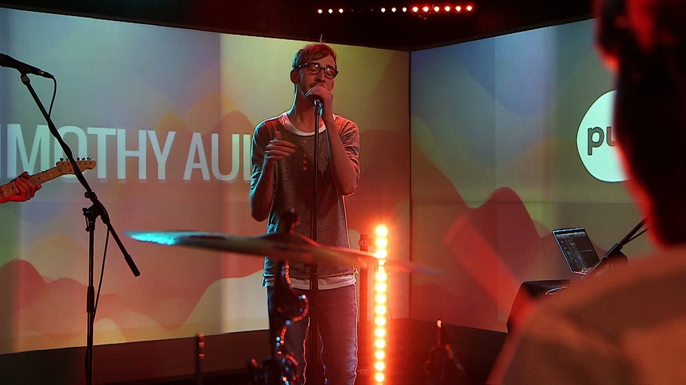 Timothy Auld Live Session | Bild: BR