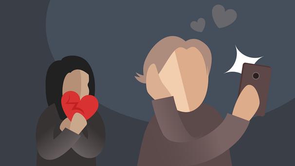 narzisstische Menschen in Beziehungen
