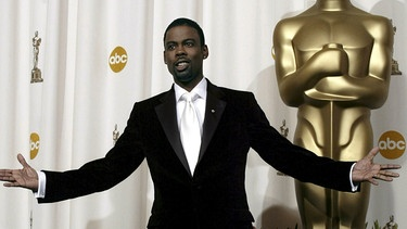 Host Chris Rock bei den Oscars 2016 | Bild: picture-alliance/dpa