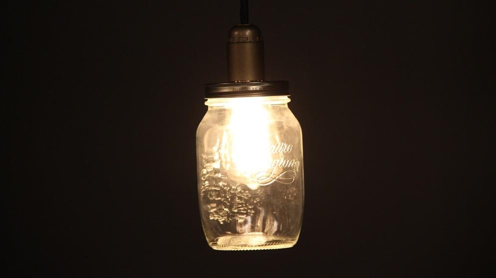diy weihnachtsgeschenke retro lampe im glas leben themen puls. Black Bedroom Furniture Sets. Home Design Ideas