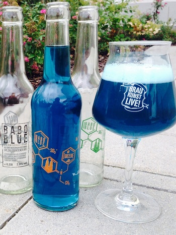Do-it-yourself-Getränk Babo Blue | Bild: Presse