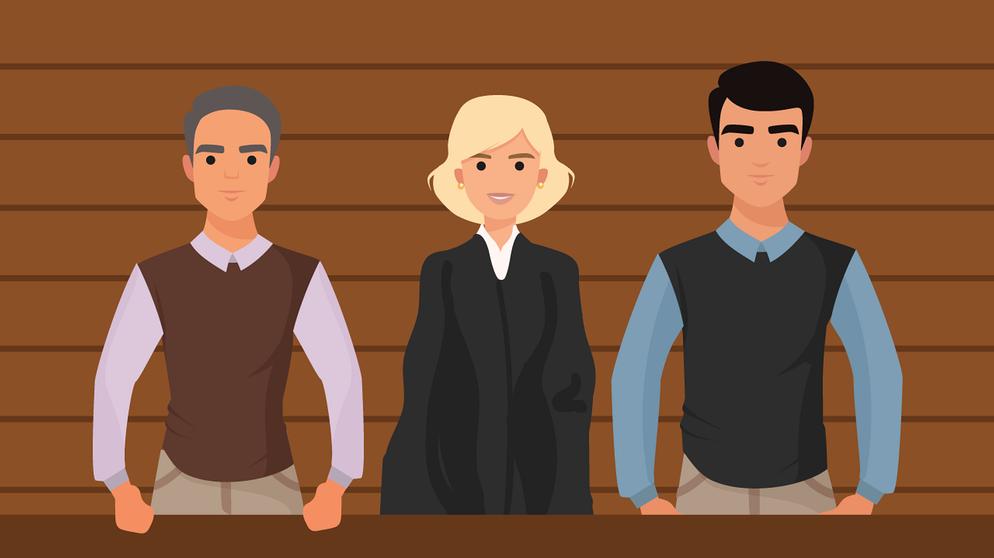 Richter Ohne Jura Warum Schoffen Wichtig Sind Leben Themen Puls