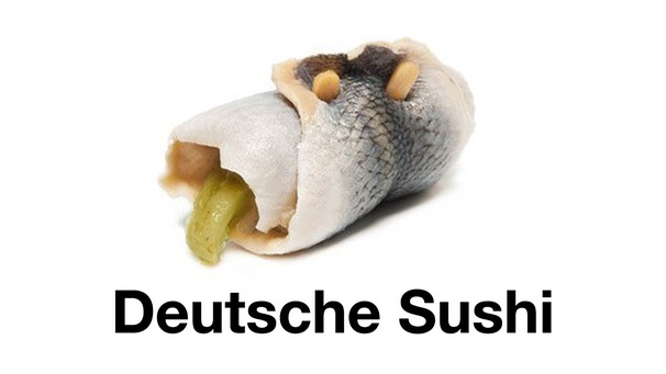 Deutsche Dings Sushi | Bild: instagram.com/deutschedings